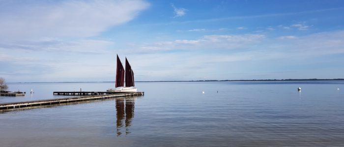 Skellig au lac de Cazaux